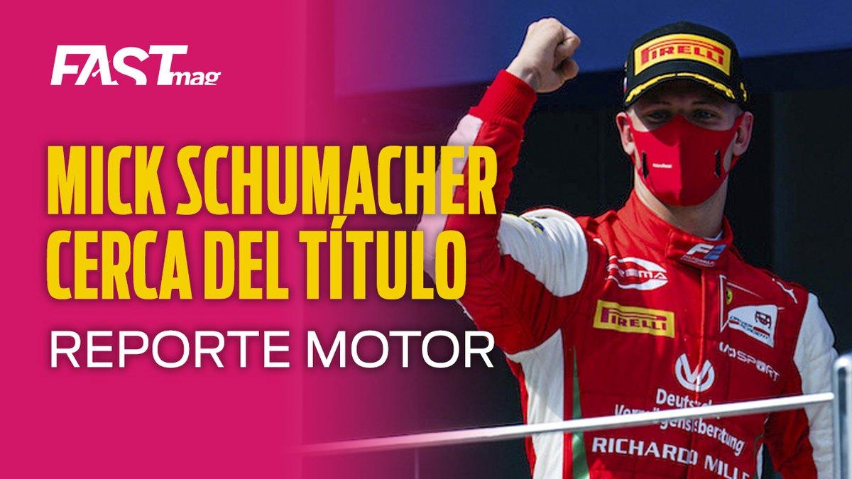 """¡EL RESUMEN DEL FIN DE SEMANA!  Aquí está el #ReporteMotor de este lunes, en el que el Editor te cuenta de la actuación de @SchumacherMick en la #F2 en Sochi, #NASCAR en Las Vegas, #IMSA en Mid-Ohio y las """"24 Horas de Nürburgring"""" --> https://t.co/4Y6akn72Oo https://t.co/NH6ZfwLZF1"""