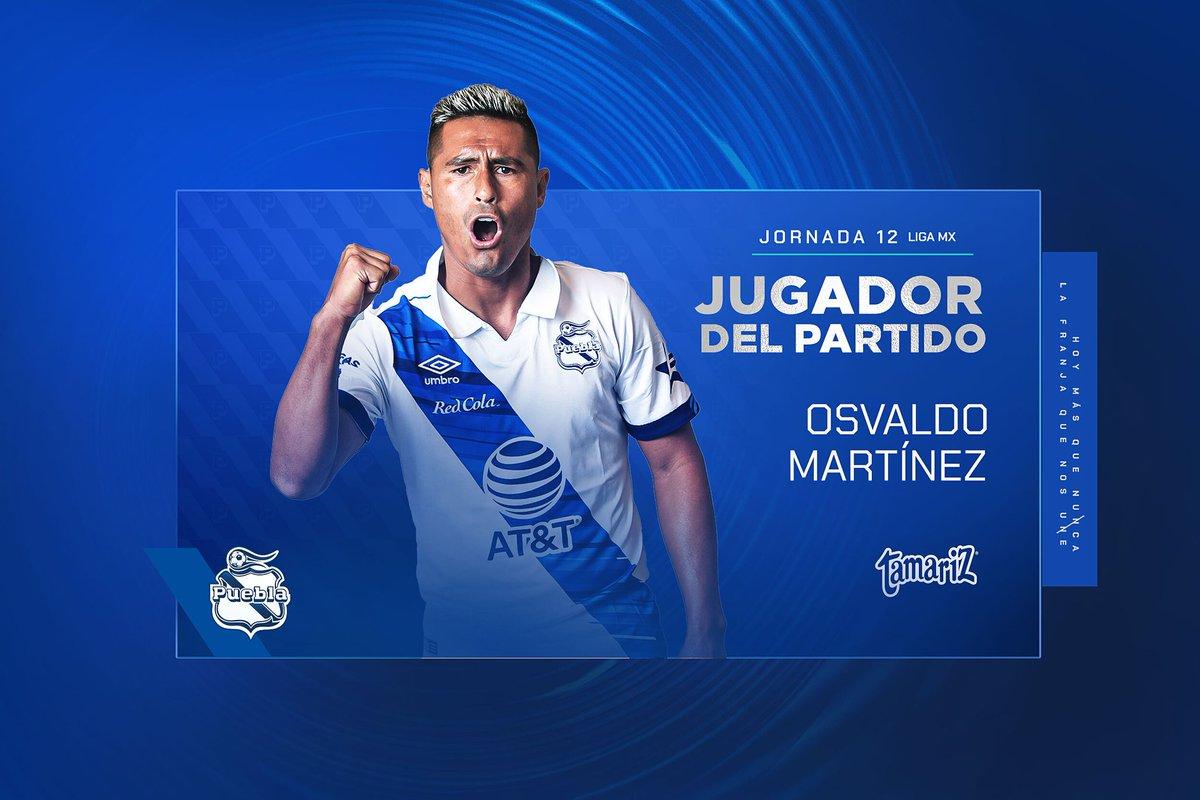 Y el ganador del Jugador del partido Tamariz ®️ es 🥁🥁🥁🥁   ¡Osvaldo Martínez! 🔥🔵 👏 que nos siga llenando de alegrías   #LaFranjaQueNosUne🎽 https://t.co/O3ikpUqpDv