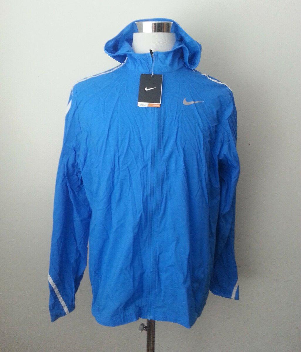 Sale $71.95 https://t.co/FeF33KYVtE #NIKE Windbreaker Men Size L Blue NWT Fully Zipped https://t.co/qnG16EinWq