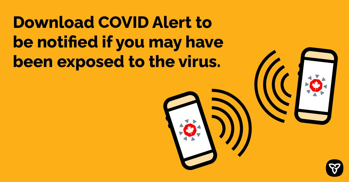 Now, more than ever, we need everyone to download the COVID Alert app so you can be notified if you may have been exposed to the virus. COVID Alert is: ✅Free ✅Easy to use ✅Safe and private iOS: apps.apple.com/app/id15202842… Android: play.google.com/store/apps/det…