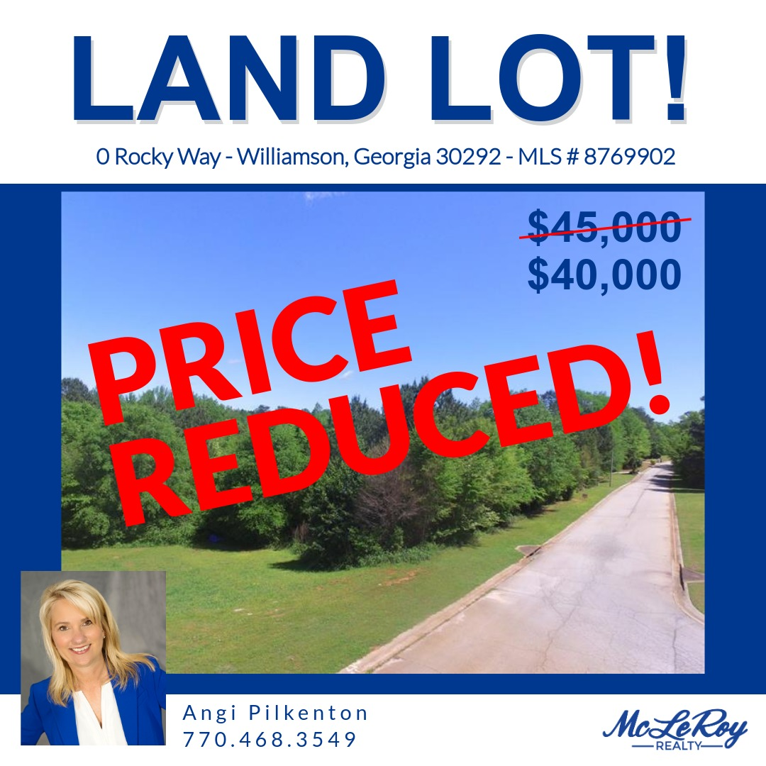 📢 PRICE REDUCTION: Located in prestigious Rocky Creek in Williamson, this lot is 3+ acres with a gentle slope to allow for a basement. 🏡 Jump on this one because lots rarely pop up for sale in this neighborhood. Call Angi today! ⌛ #buildinglot #rockycreek #williamson https://t.co/FoEKP1CoaU
