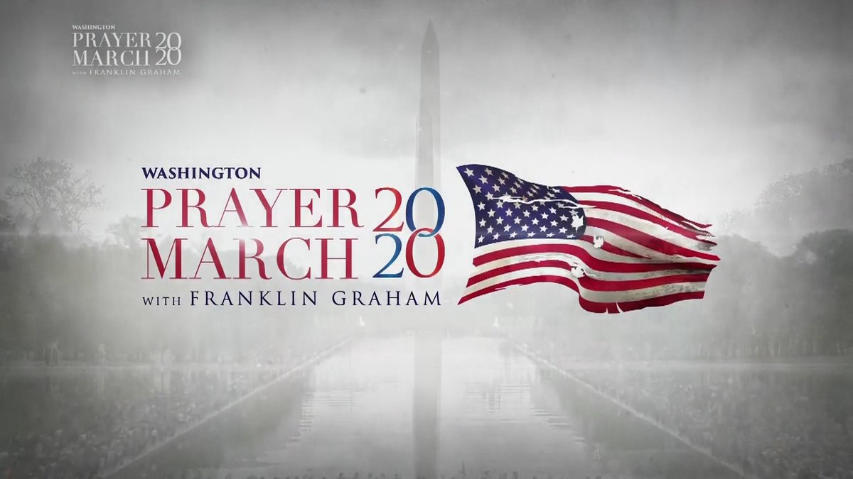 Join hosts Matt & Laurie Crouch, @Franklin_Graham, and @Jonathan_Cahn for highlights on Saturday's #PrayerMarch2020 in our nation's capital ... TONIGHT at 8/7c! https://t.co/pj3AXF6Zh2
