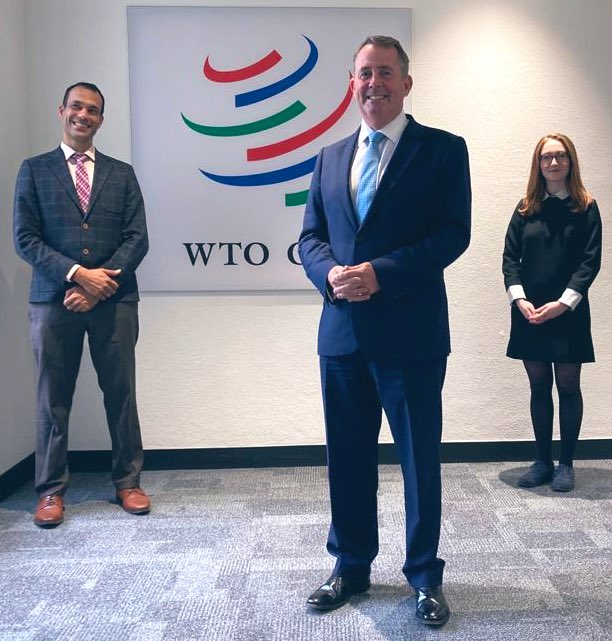 Voting continues in the 2nd round of the #WTODG selection in Geneva. Today I have been talking about how we need to get more #SMEs trading across the 🌍. https://t.co/Zmy8RhydLy #wto #LiamFoxForWTO https://t.co/6iOw4LjO3q
