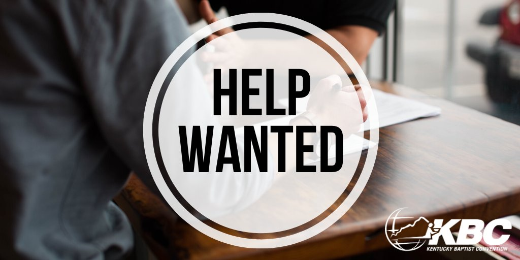Lexington Avenue Baptist Church of Danville, Ky., is seeking a minister to children/middle school students and families. Learn about this and other job openings at kentuckytoday.com/classifieds. Churches can place ads for free by contacting classifieds@kentuckytoday.com.