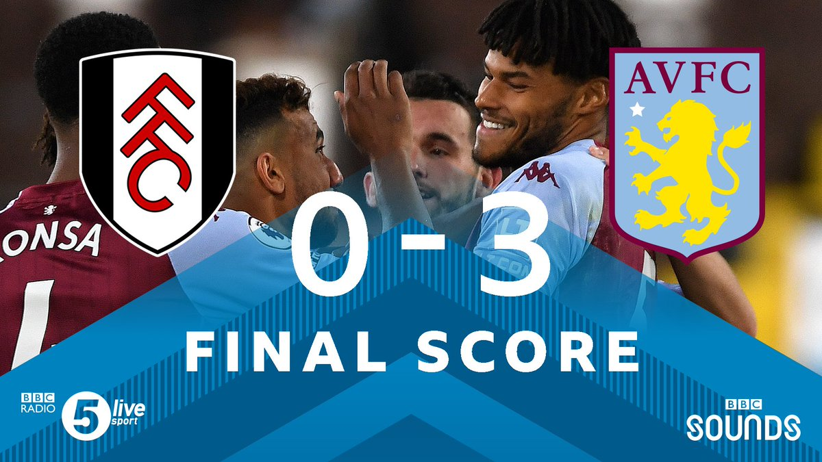 """FT:  Three straight defeats for Fulham.  #AVFC have played four games in all competitions this season, and won them all.  """"A sorry evening for Fulham"""" - Matthew Upson  📲⚽ https://t.co/5Du5Yilmm1 #bbcfootball #FULAVL https://t.co/T7Qbf311se"""