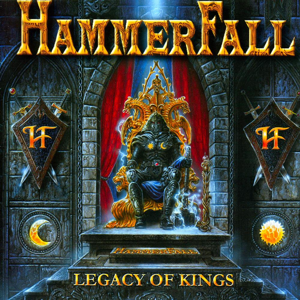 """22 years ago #HammerFall released Legacy Of Kings! Reaching #15 in Sweden and Germany, it features a cover of Pretty Maids' """"Back To Back"""". Let The Hammer Fall! https://t.co/fG0DcKq5QE"""