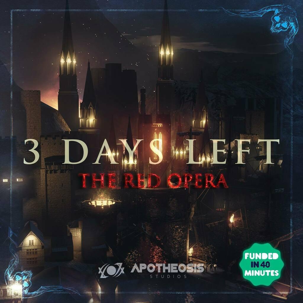 3 Days To finish this campaign! Join us until October 1st on Kickstarter at https://t.co/RKAiirFeN9 . . .  #apotheosisstudios #fantasy #fantasyart #fantasybooks #fantasyfiction #graphicnovels #indiegame #indiestudio #dungeonsanddragons #rpg #tabletopgame… https://t.co/nRaDLwYueG https://t.co/CaKu7edUe7
