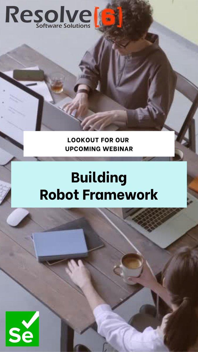 test Twitter Media - Checkout our upcoming Webinar on building Robot Framework using Industry Best Practices. For details go to https://t.co/M4nbO4vvln https://t.co/QddfvUzx2g