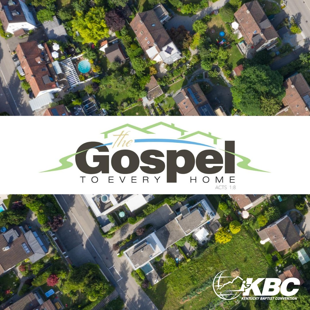 Take a moment to pause and pray for our Gospel to Every Home initiative. Learn more and join the efforts by visiting kybaptist.org/gospel.