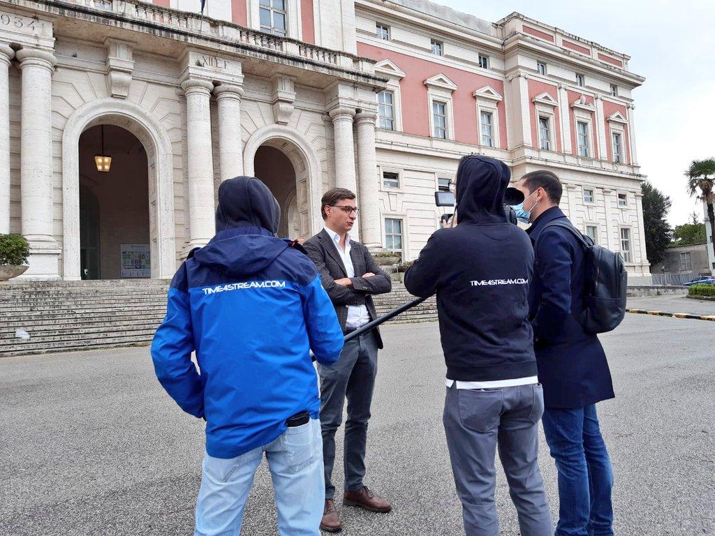 "Live News for ""Fuori dal Coro"" With Andrea Ruperto Mediaset - Rete4  Naples (Italy) 26.09.2020  #time4stream #livenews #direttatv #direttalive #journalism #cameraman #troupetv #crewtv #camcorder #liveu #covid19 #napoli #cameracar #reporter #reportage #instagood https://t.co/9AZ5Cygf6i"