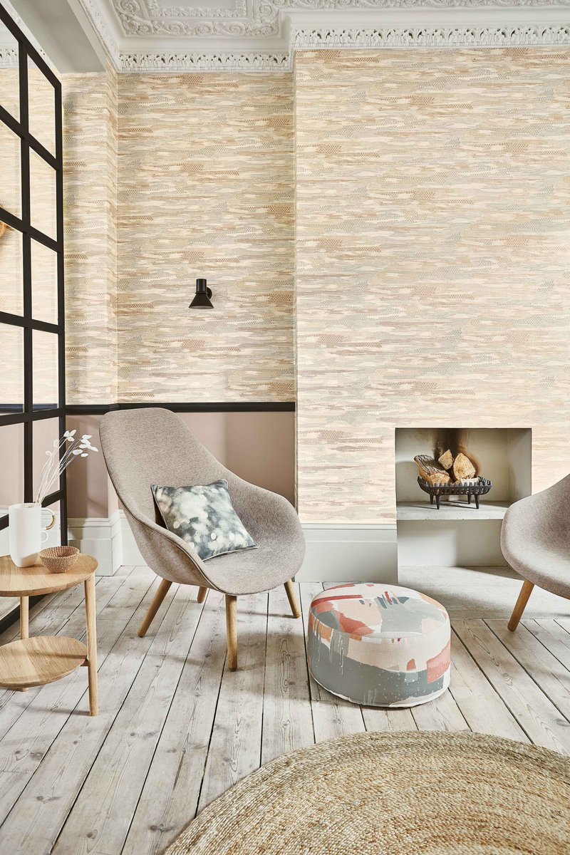 Villa Nova On Twitter Give Walls An Interesting Tactile Quality With Our Heath Wallcovering Gentle And Unique This All Over Design Mimics Embroidery Through A Raised Stitch Effect Resulting In
