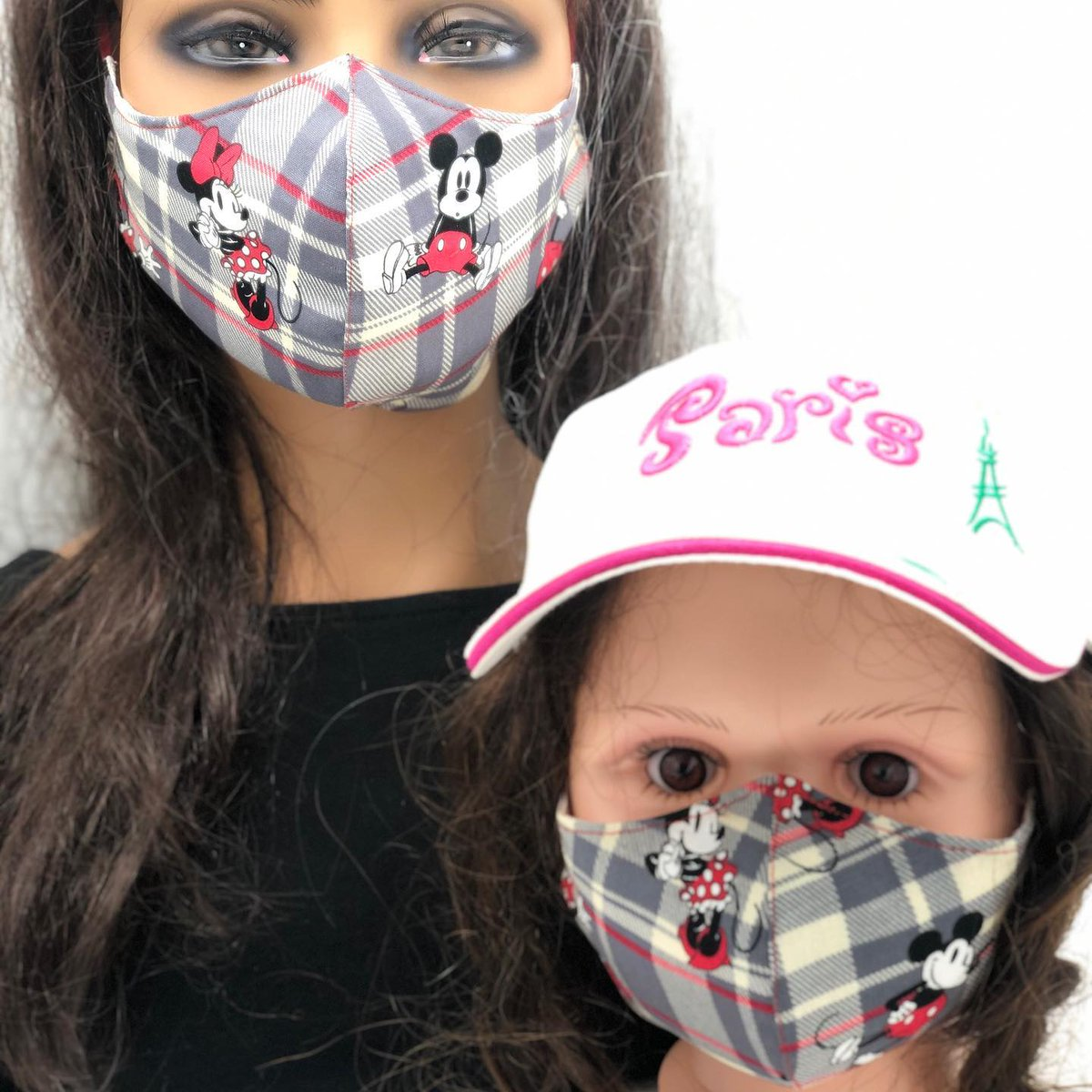 Mommy and me face mask. #facemasks #facemask #mascara #covid #covid19 #cute #design #custom #customized #custommask #customizedmask #mickey #mickeymouse #minnie #minniemouse #love #kapimagen https://t.co/vqwd5cUs1x https://t.co/MPYtrHi4Xz