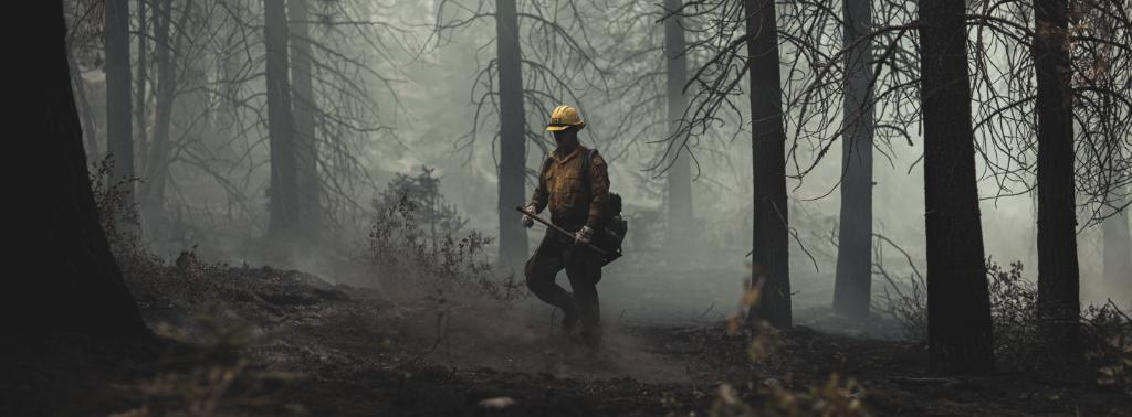 Firefight Approximately 250 #USMarines and #USSailors from 7th ESB are helping to fight the Creek Fire in Central California.