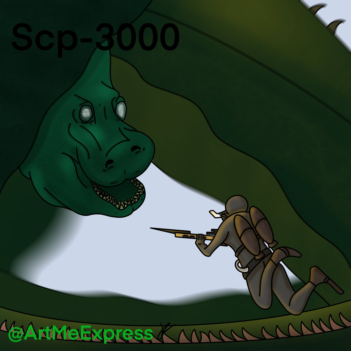 Scp3000 Hashtag On Twitter Scp 3000 is a giant eel with the power to manipulate minds and alter memories, among other things. scp3000 hashtag on twitter
