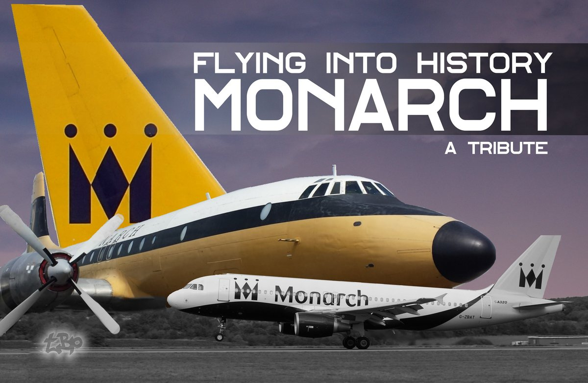 Remembering Monarch Airlines Video. Monarch ceased flying on 2 Oct 2017. This 🎦 includes cine film footage up to and including 4K of their varied fleet https://t.co/oOitGkzn1a  #monarch #flying #planes #vintage #airplanes #airlines #tribute #aviation #avgeek https://t.co/Z40FQ0dktC