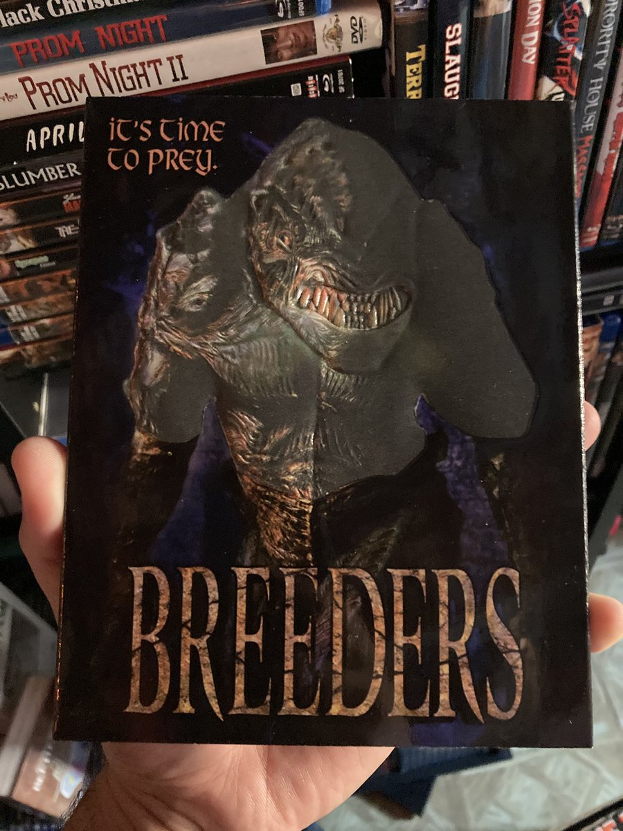 #NowPlaying #Breeders a.k.a #DeadlyInstinct  #90s #Scifi #Monster #Alien #Horror https://t.co/WsEPsUv2lh