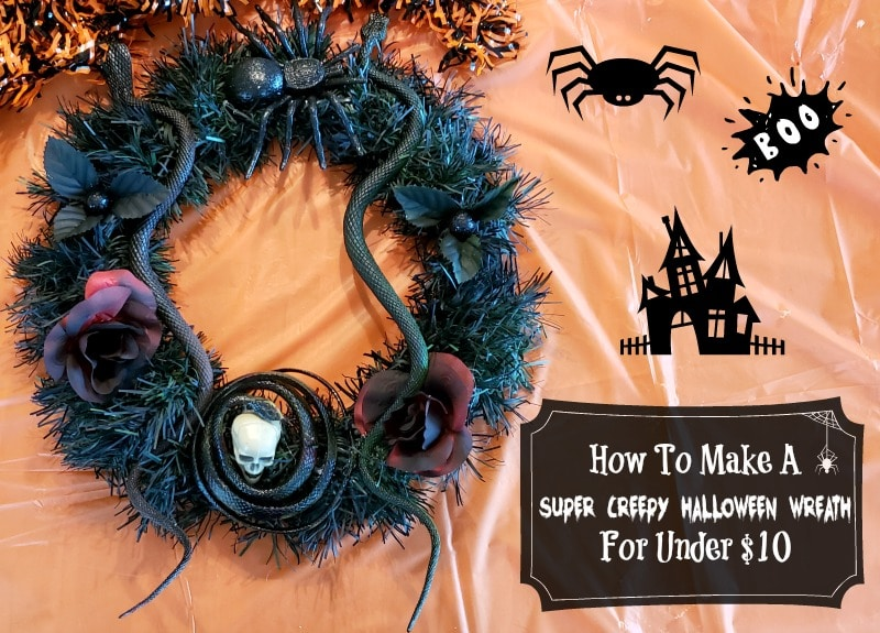 How To Make A Super Creepy Halloween Wreath For Under $10  https://t.co/QPBOvRaG4u #halloween #diy #crafty #creepy #spooky #scary #wreath #Louisiana #Acadiana #Lafayette https://t.co/8LqYH6wWqr