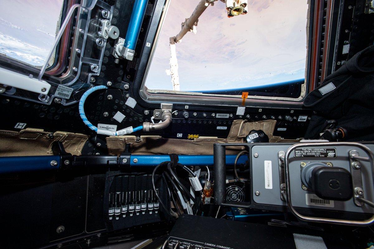 Desde el aire que respiran hasta la comida que consumen, la tripulación a bordo de la @Space_Station estudió muchos aspectos de su vida en microgravedad la semana pasada.  Aprende más: https://t.co/OoJHqhI5R5 https://t.co/RJpYwWoA8j