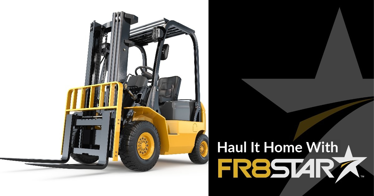Get fast and easy booking with top carriers and transportation companies through #FR8Star today! Perfect for transporting heavy #LiftMachinery. https://t.co/5xAlsuoCIz 👈  #EquipmentTransport #Freight #HeavyHaul #Shipping https://t.co/IUdkR4UoPQ