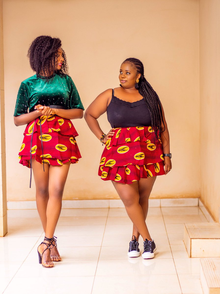 """Tag someone you know that will love 💕 to have our """"SiSi Skirt""""   🌐 https://t.co/4jYt1aF5Z1  #fall #fallfashion #MondayMorning #africanfashion #Trending #chateauMeiland #SaloneTwitter https://t.co/TFohJ3qDQs"""