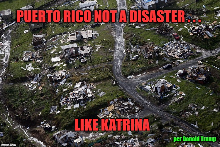 Who can deny an #Angry #Vindictive #Trump👱#WithHeld #Relief to #Island🏝️to get even😠w/ #CarmenYulin, the #Mayor of #SanJuan, who criticized #POTUS for his response aftermath of #HurricaneMaria 🌪️🌀 which resulted in a #Significant #Surge of #Deaths?⚰️ 🇵🇷 https://t.co/bC85p9mpbM