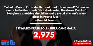 Who can deny an #Angry #Vindictive #Trump👱#WithHeld #Relief to #Island🏝️to get even😠w/ #CarmenYulin, the #Mayor of #SanJuan, who criticized #POTUS for his response aftermath of #HurricaneMaria 🌪️🌀 which resulted in a #Significant #Surge of #Deaths?⚰️ 🇵🇷 https://t.co/fNupbqU88C