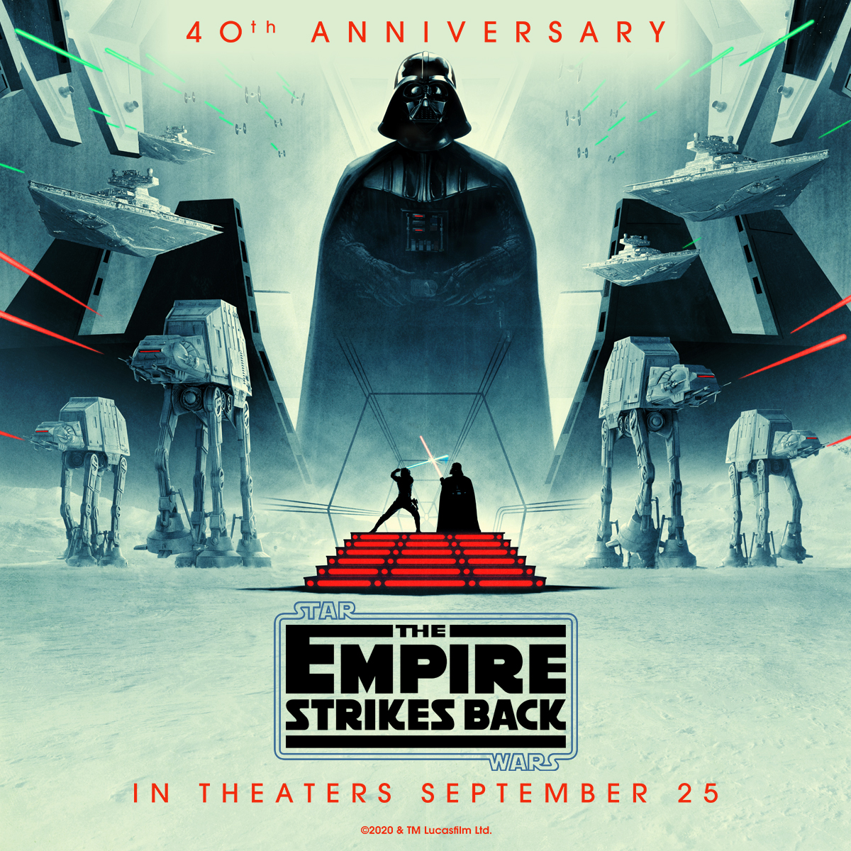Celebrate the 40th anniversary of The Empire Strikes Back at https://t.co/9TNzgavfeD Cinemas 🎥🍿 In theatres Sept 25th!  Tickets on sale NOW! ⚠️   Buy tickets: https://t.co/0G73QbVjwj 🎟  COVID-19 Procedure: https://t.co/qFX96q1qf1 🏠   #theempirestrikesback #starwars #lucasfilm https://t.co/GAPX0EfD18