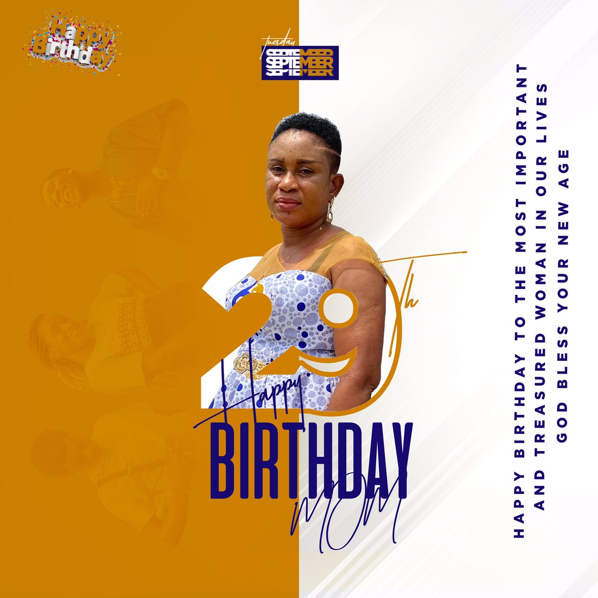 Hi guys please RT this birthday art I might have a customer in your timeline who needs a design like this ... #birthdays #birthday #29thseptember #customers #designs #graphicdesign #graphicdesigner #design2020 https://t.co/Jj6MVhiRWr