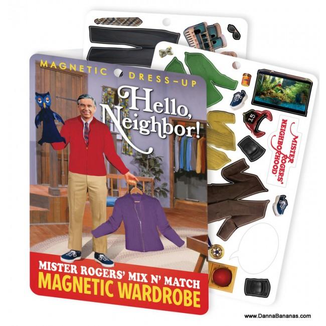 Hello Neighbor! Mr. Rogers' Dress Up Magnet Set