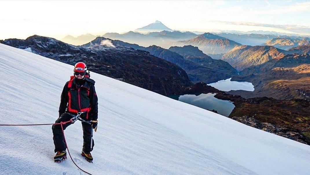 Volcán El Altar 📍 Chimborazo, #Ecuador🇪🇨 IG 📸 @andeansummitadventure #Montañas #Aventura #ÁreasProtegidas https://t.co/5bwAQJ7l0h
