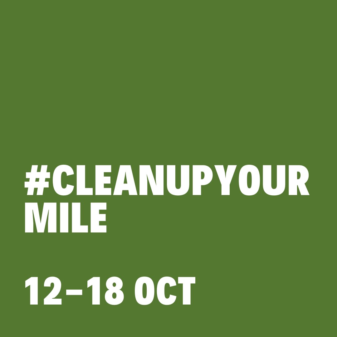 #cleanupyourmile #nature #environment #climate #climatechange #countryside #countryfile #forest #woodland #litter #rubbish #trash #leavenotrace #greatoutdoors #lovenature #planetearth #pollution #plasticpollution #endangered #UN #autumnwatch #bbcearth  #davidattenborough https://t.co/5AvsUqzktN