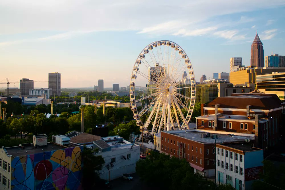 This Ferris wheel-like ride is a great way to see #Atlanta from up high. #travel  https://t.co/bfQgbbqBTk https://t.co/pWZOsPsFlq