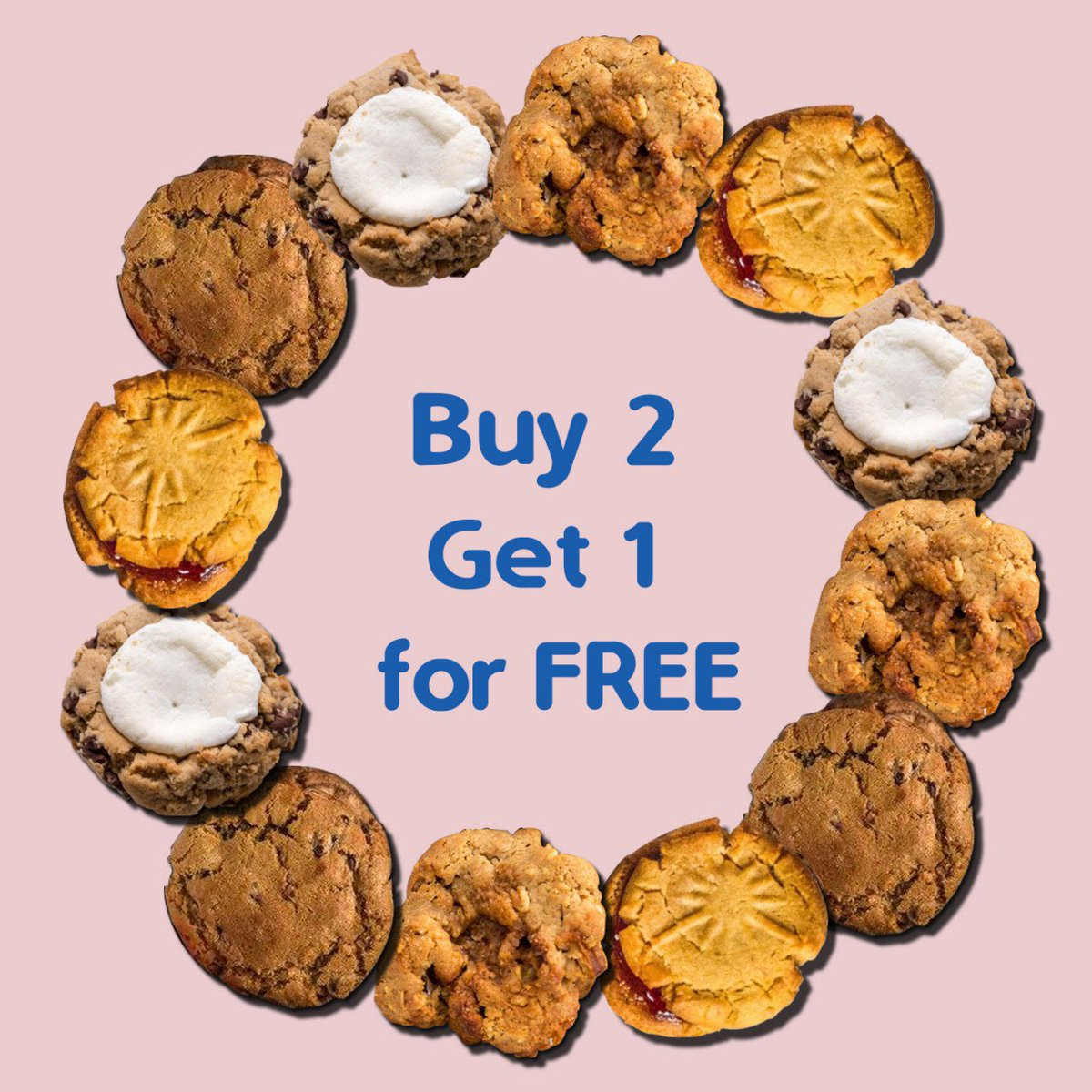 🍪BUY 2 GET 1 FOR FREE🍪  🍪😋That's right, fresh cookies from @littleredkitchen arrived in our store, baked with mostly organic, fair trade or non-GMO ingredients for a treat that's wholesome and delicious😋🍪  #littleredkitchen #clubcandyatl #downtownatl #whyiloveatl #atlanta https://t.co/ESvHSZKcCM