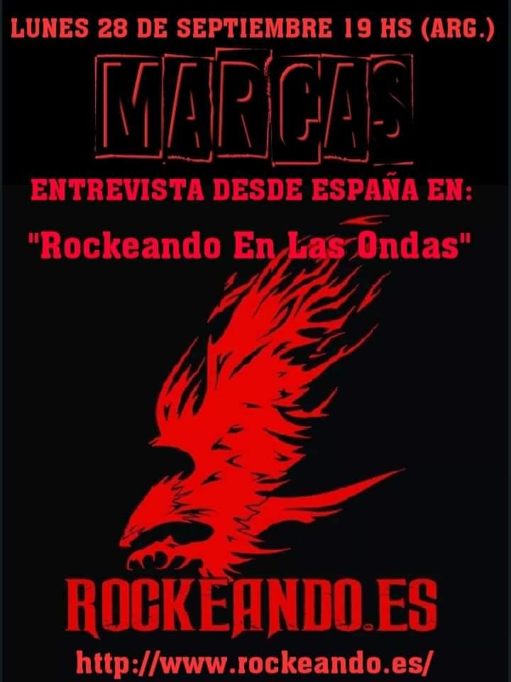 """El programa de hoy de """"Rockeando en las Ondas"""" viene con entrevista en un rato, a las 00:00 h en https://t.co/augJlg2POJ"""