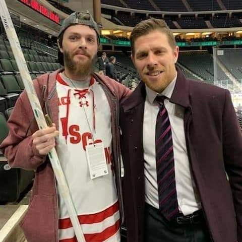 Wishing my dude Joe Pavelski good luck tonight in the Stanley Cup finals. Told him back in December that I'd be rooting for him to win it all along with my sharks and wild. Lets go Dallas and lets go Pavs!!!! #StanleyCup https://t.co/f8TCI5Ogoi