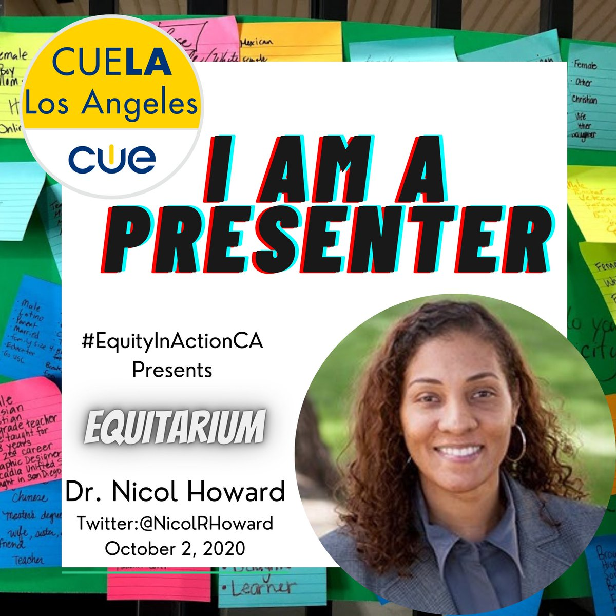 Are you attending #Equitarium2020?   🗣@NicolRHoward and @sheldoneakins are guest presenters. Bring your colleagues, friends, and family to this discussion on #equity and #inclusion.  Do you want to move towards action? You have to start somewhere.....Why not start HERE! https://t.co/IDq0ZAKkM0