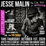 Image for the Tweet beginning: Don't miss @jesse_malin's The Fine