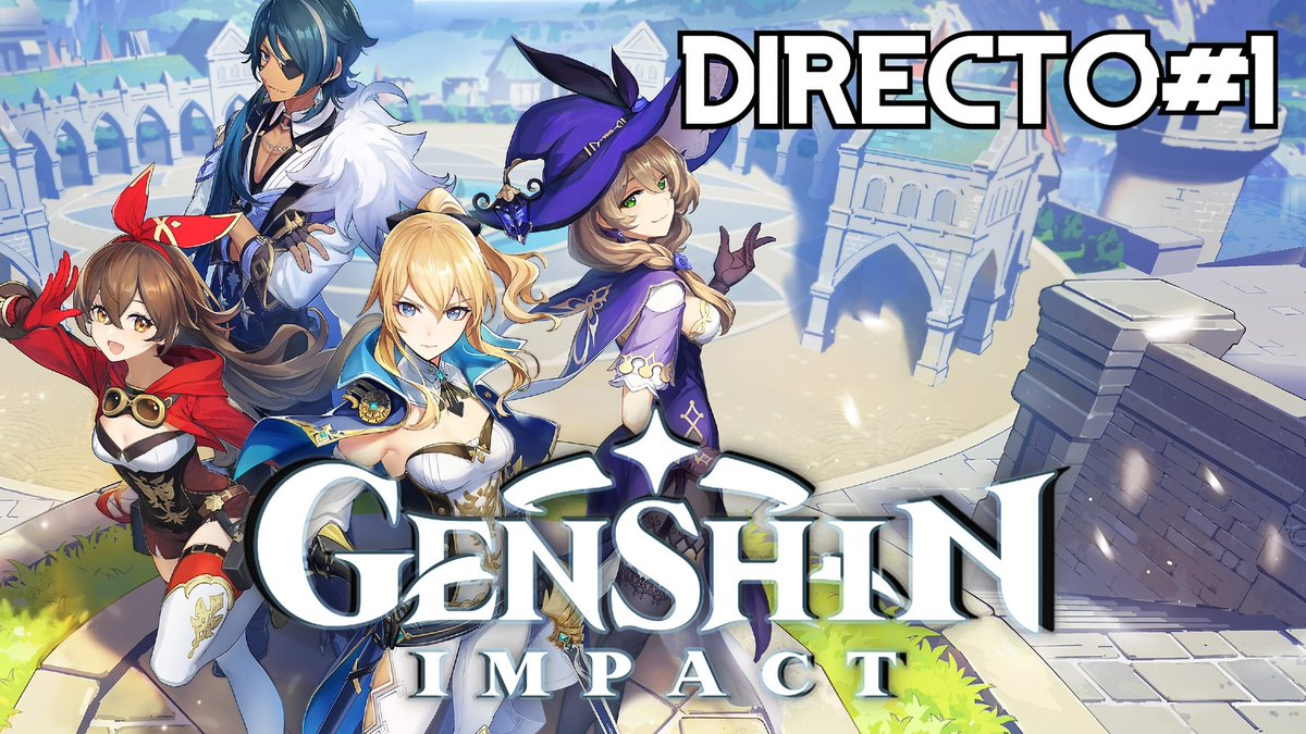 ⚠️Hoy 10 Pm. Genshin Impact #1 - PC - Directo SOLO por Youtube ⚠️  Youtube!  https://t.co/FbQxopXQvD  #elleu #genshinimpact  #pc #yaestapagado #gameplay #gameplays #elleuplays #instagamer #streamer #mexico https://t.co/debbl0utCP
