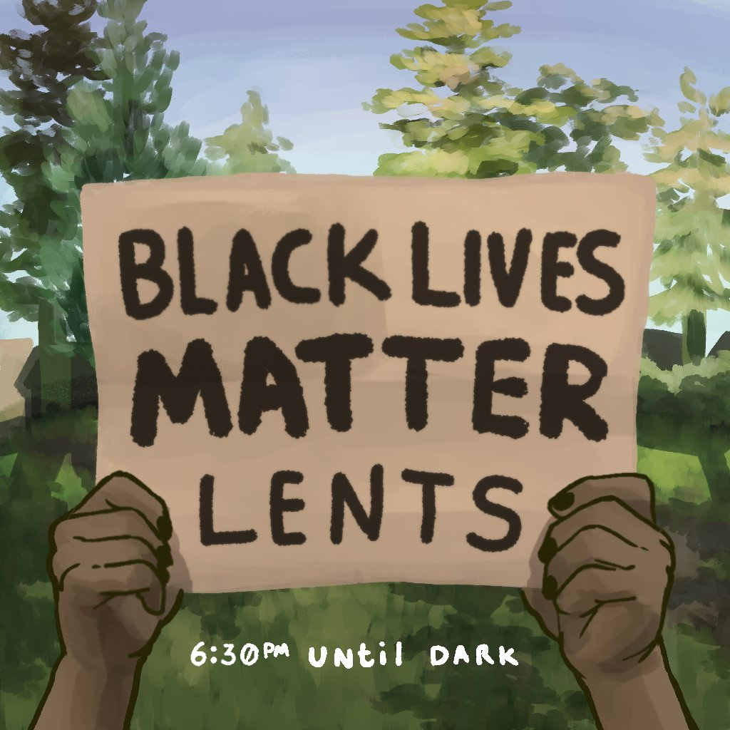 After a break due to the fires/smoke, the #blacklivesmatter sign-waiving in Lents Park is back tonight (Monday Night)!  Bring a sign by the SE corner of Steele and 92nd with a sign, or come make one! Supplies provided. https://t.co/qQEQHrEhar