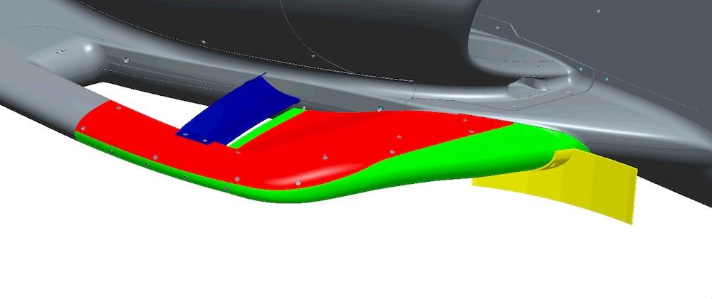 10月29日にIMSで新型エアロのテスト。 シボレーとホンダユーザーから計6台が参加。来年のインディ500でタイヤのスペック変更なしにパッシングを増やすのが目的。 まずは赤と緑でテストをして、状況によって青と黄を追加してテスト。 https://t.co/LzY9RjxYI9 https://t.co/FcGoGQIgZe https://t.co/jnyve3kP6I