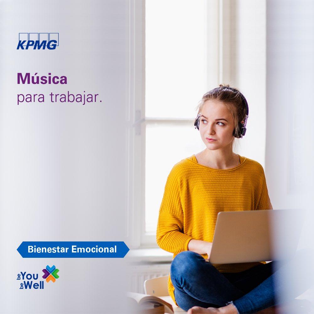 Hoy te compartimos una playlist de música 🎶 para trabajar y que te mantengas concentrado. Encuéntrala aquí: https://t.co/8czlPFEUrv  #EnKPMGSeguimosConectados #KPMG #KPMGMéxico  #Wellness #Work https://t.co/fcNa3m3NC4