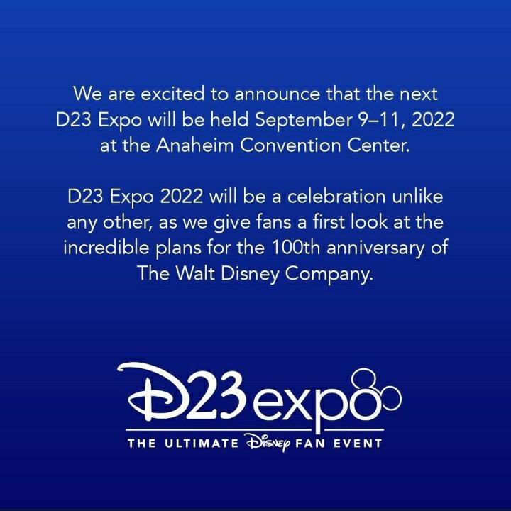 D23  e adiado para 2022, este é o evento da Disney onde são anunciados os filmes e series  da Marvel, Star wars , Pixar e etc .  #d23  #MarvelStudios  #StarWars  #Pixar https://t.co/05zJ5n1cdC
