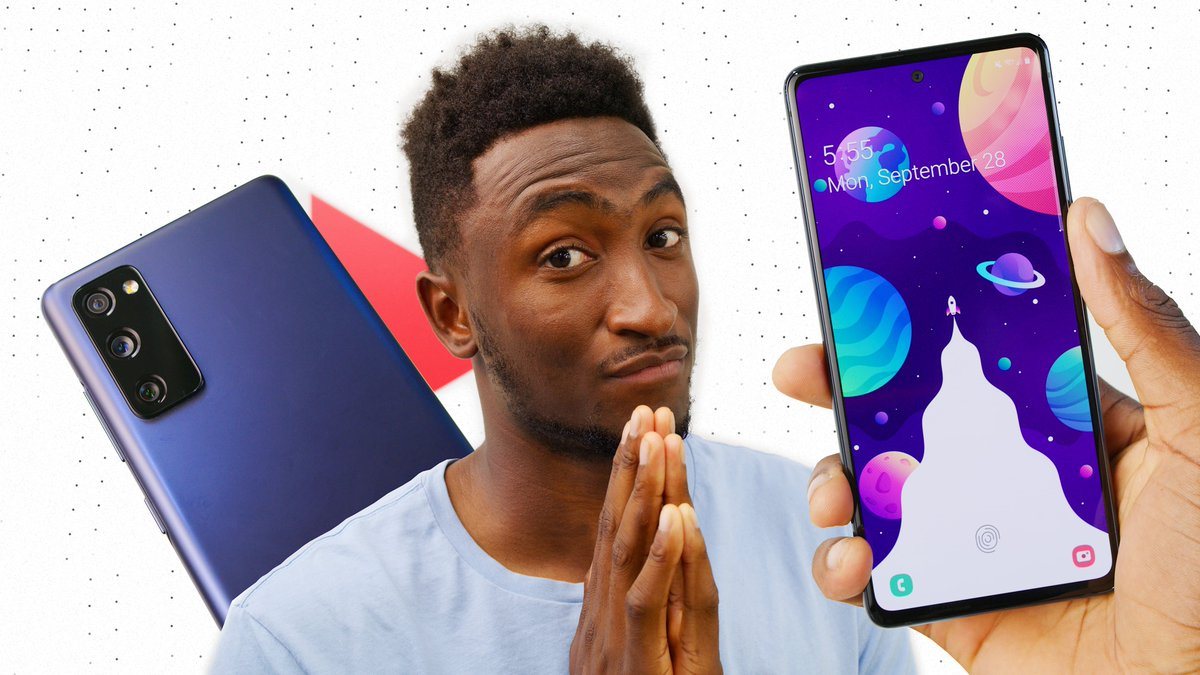 Marques Brownlee On Twitter New Video The Galaxy S20 Fan Edition Hear Me Out Https T Co Nlvf30eo9a