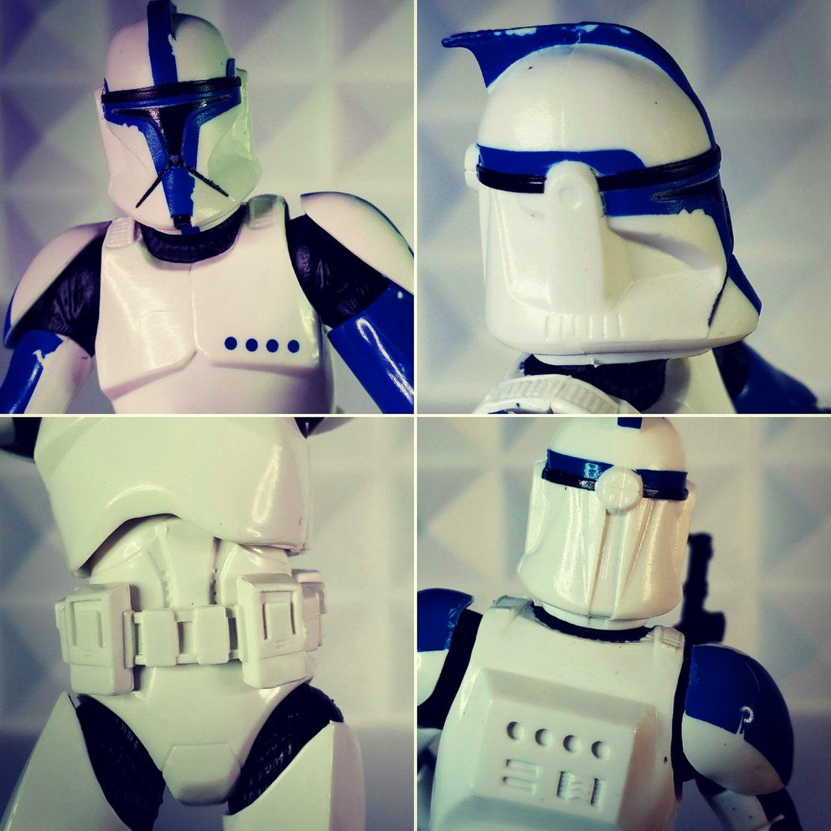 Clone Trooper Lt 🤘🤘 #starwars #blackseries #actionfigures #toyphtography #clonewars #attackoftheclones https://t.co/Hi8L5Eb0kg