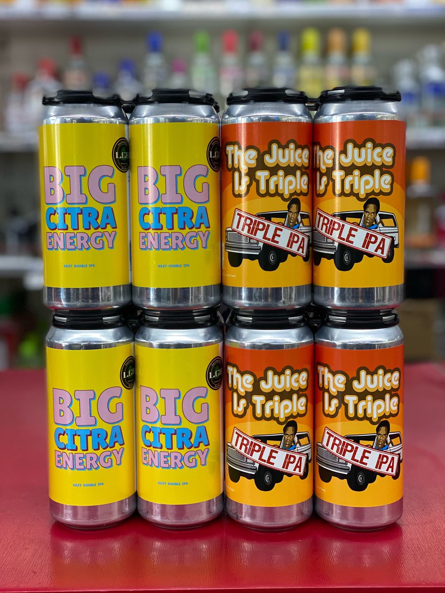 Just landed! @localcraftbeer #thejuiceistriple #tipa #hazytipa #bigcitraenergy #hazydipa #dipa #beer #craftbeer #bottleshop #3tenliquor #3ten #shoplocal #cheers https://t.co/PlkfokCEz1