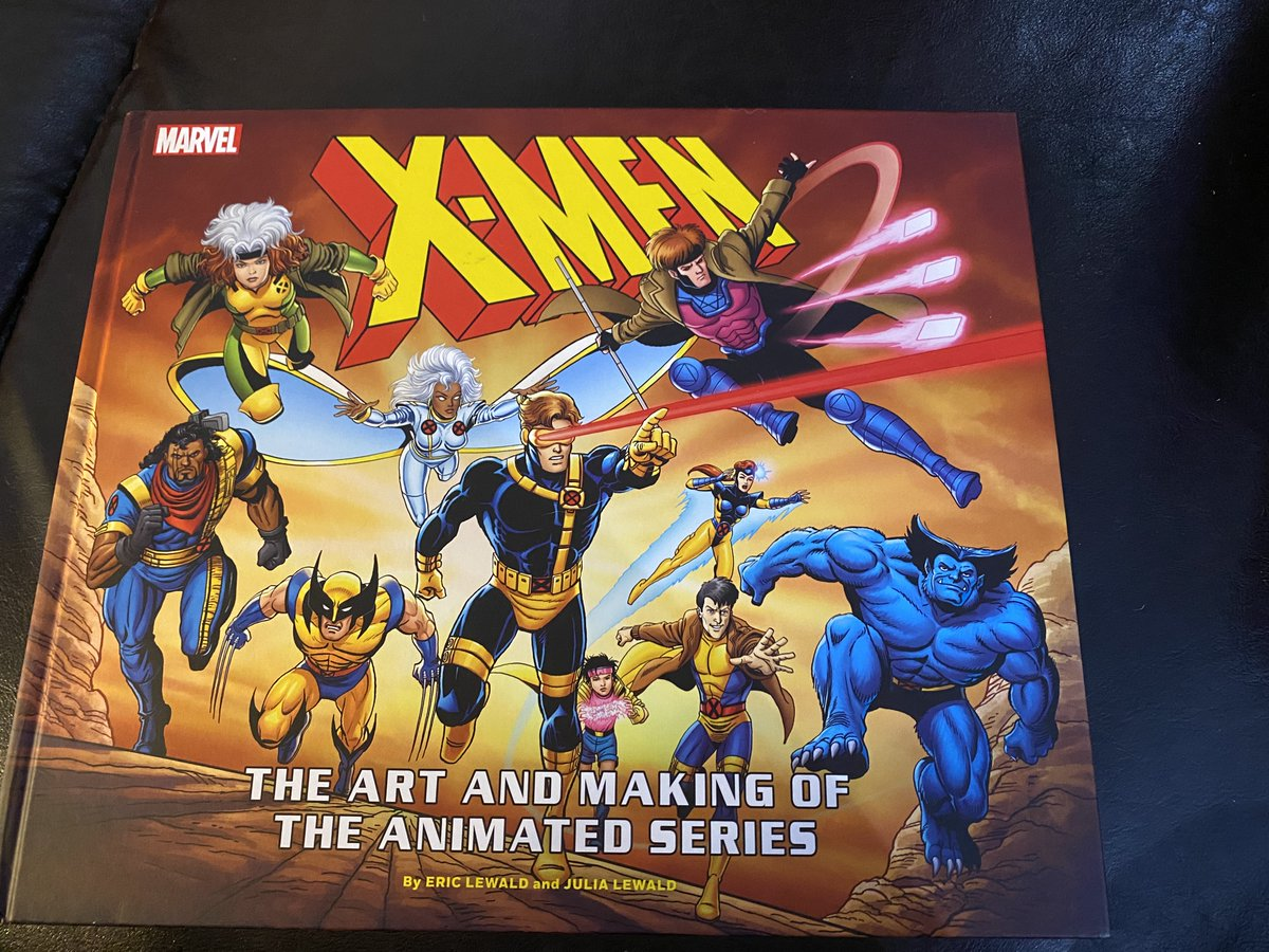 @HOMAGE @xmentas Here's the book. They already released Previously On X-Men, which is a killer inside look into how the show was made and interviews with the folks involved.