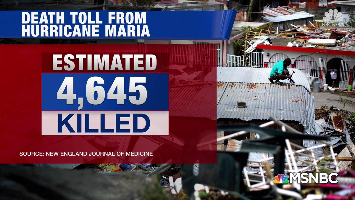 Who can deny an #Angry #Vindictive #Trump👱#WithHeld #Relief to #Island🏝️to get even😠w/ #CarmenYulin, the #Mayor of #SanJuan, who criticized #POTUS for his response aftermath of #HurricaneMaria 🌪️🌀 which resulted in a #Significant #Surge of #Deaths?⚰️ 🇵🇷 https://t.co/8n9n32r3dX