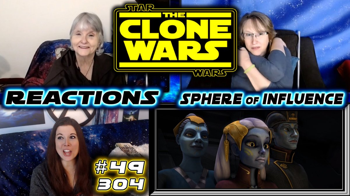 https://t.co/o1MsAX9ArG This was so great! We so don't trust anyone though, LOL! #TheCloneWars #StarWars #blind #reaction #Ahsoka #Anakin #ObiWan #kidnap #corruption #jedi #sith https://t.co/ZzCv0dc3nL