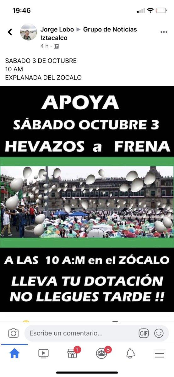 @Andres_Vingback @Claudiashein Y mira en campamento 2 de octubre en iztacalco se esta organizando esto, al@mas estilo porril de #morena https://t.co/A0OPO8adrA