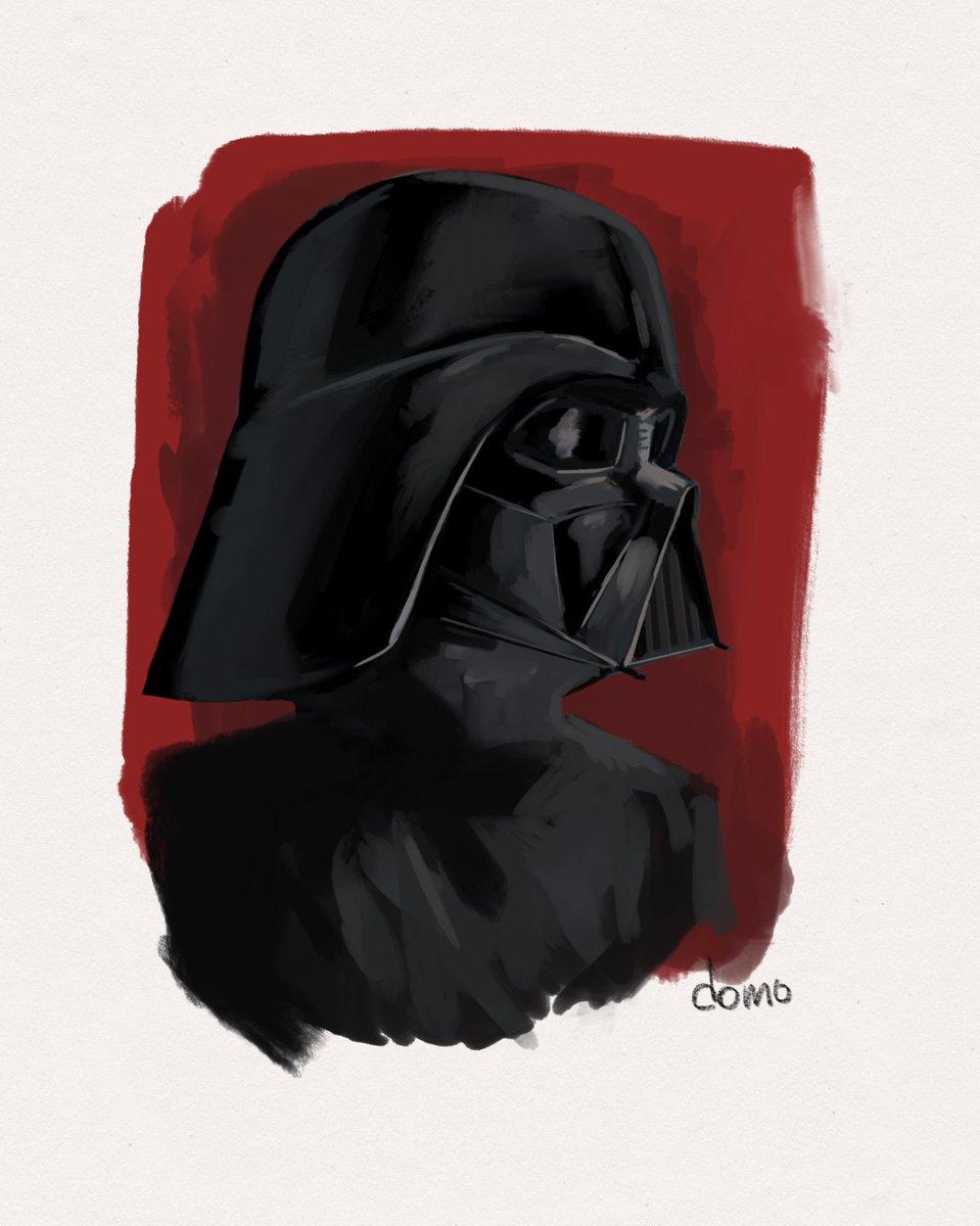 Vader done in @Procreate with #maxpacks #art #starwars #Guatemala https://t.co/wAb17Biu9J